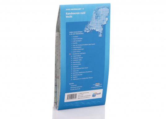 Seekarten für verschiedenen Fahrtgebiete in den Niederlanden, mit detaillierten nautischen Informationen, Brückennummern und Übersichtskarten zu den wichtigsten Häfen und Plätzen.  (Bild 2 von 19)