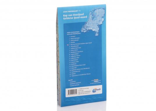 Seekarten für verschiedenen Fahrtgebiete in den Niederlanden, mit detaillierten nautischen Informationen, Brückennummern und Übersichtskarten zu den wichtigsten Häfen und Plätzen.  (Bild 4 von 19)