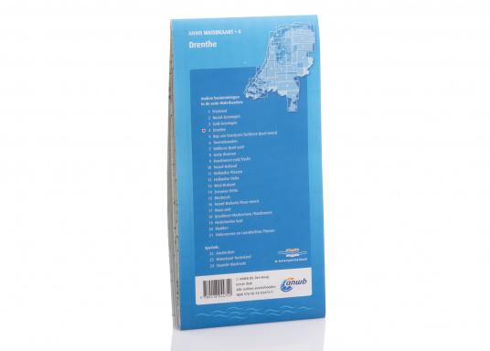 Seekarten für verschiedenen Fahrtgebiete in den Niederlanden, mit detaillierten nautischen Informationen, Brückennummern und Übersichtskarten zu den wichtigsten Häfen und Plätzen.  (Bild 6 von 19)