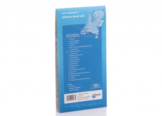 Seekarten für verschiedenen Fahrtgebiete in den Niederlanden, mit detaillierten nautischen Informationen, Brückennummern und Übersichtskarten zu den wichtigsten Häfen und Plätzen.  (Bild 8 von 19)
