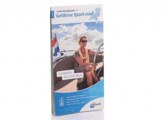 Seekarten für verschiedenen Fahrtgebiete in den Niederlanden, mit detaillierten nautischen Informationen, Brückennummern und Übersichtskarten zu den wichtigsten Häfen und Plätzen.  (Bild 7 von 19)