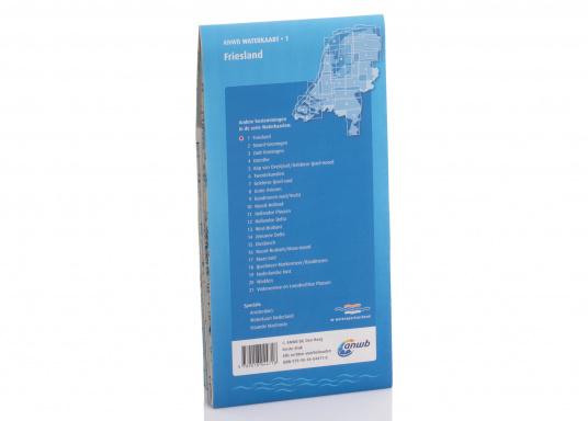 Seekarten für verschiedenen Fahrtgebiete in den Niederlanden, mit detaillierten nautischen Informationen, Brückennummern und Übersichtskarten zu den wichtigsten Häfen und Plätzen.  (Bild 12 von 19)