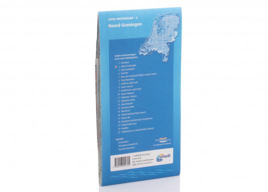 Seekarten für verschiedenen Fahrtgebiete in den Niederlanden, mit detaillierten nautischen Informationen, Brückennummern und Übersichtskarten zu den wichtigsten Häfen und Plätzen.  (Bild 14 von 19)
