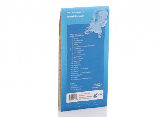 Seekarten für verschiedenen Fahrtgebiete in den Niederlanden, mit detaillierten nautischen Informationen, Brückennummern und Übersichtskarten zu den wichtigsten Häfen und Plätzen.  (Bild 16 von 19)