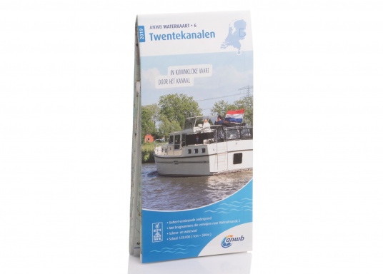 Seekarten für verschiedenen Fahrtgebiete in den Niederlanden, mit detaillierten nautischen Informationen, Brückennummern und Übersichtskarten zu den wichtigsten Häfen und Plätzen.  (Bild 15 von 19)
