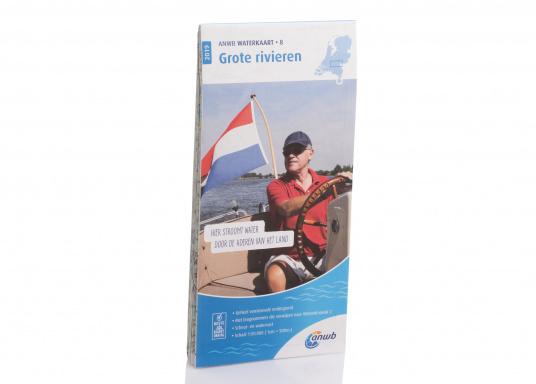 Seekarten für verschiedenen Fahrtgebiete in den Niederlanden, mit detaillierten nautischen Informationen, Brückennummern und Übersichtskarten zu den wichtigsten Häfen und Plätzen.  (Bild 18 von 19)