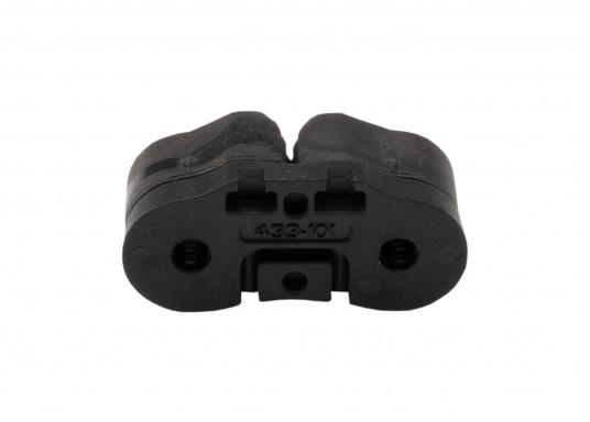 Die hochwertige Schotklemme CAM CLEAT 27 von SELDEN ist für 3 - 6 mm Tauwerk geeignet und verfügt über eine sichere Arbeitlast von 90 kg. Gewicht: 15 g. (Bild 3 von 3)