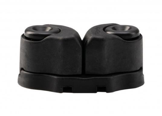 Die hochwertige Schotklemme CAM CLEAT 38 von SELDEN ist für 4 - 12 mm Tauwerk geeignet und verfügt über eine sichere Arbeitlast von 120 kg. Gewicht: 32 g. (Bild 2 von 3)