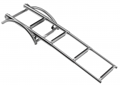 Stainless Steel Bathing Ladder for Inflatable Boats / telescopic