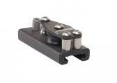 T-Traveller-System Track End with Sheave 20 x 3 mm