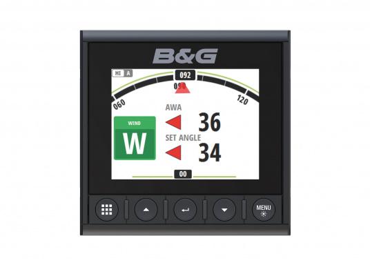 Die B&G Triton² Instrumentenanzeige ist das klarste Mehrzweck-Segelinstrument- und Autopilot-Display, mit einem 4,1-Zoll Farbbildschirm, der optische gebunden ist, um keine Kondensation zuzulassen. Im Lieferumfang ist der Durchbruchgeber DST-800 enthalten, welcher Daten zu Tiefe, Geschwindigkeit und Temperatur liefert. Zudem wird ein kabelloser Windgeber sowie ein NMEA2000 Starter-Kit mitgeliefert. (Bild 3 von 11)