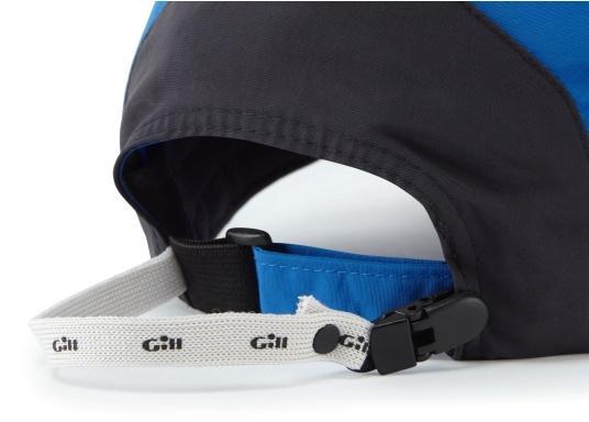 Sehr leichte und atmungsaktive Cap mit wasserabweisender Ausrüstung. Die Cap verfügt über einen UV-Schutzfaktor von 50+ und einen integrierten Cap-Catcher. (Bild 2 von 4)