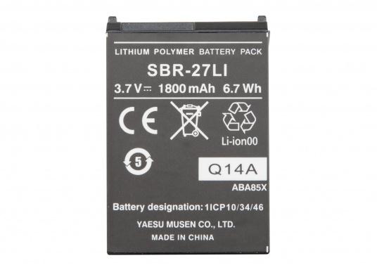 Originaler Lithium-Ionen-Ersatzakku für das Handfunkgerät HX300E von STANDARD HORIZON. Kapazität:3,7 V / 1800 mAh.