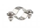 Edelstahl-Rohrschelle / für Rohr 25 mm