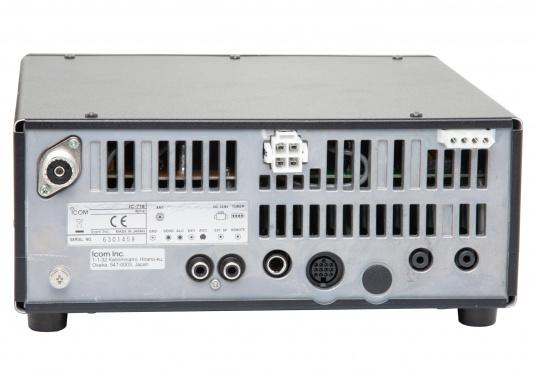 Perfekt für weltweite Funkkontakte.Das Kurzwellenradio IC-718 von ICOM ist der Klassiker. Der kompakte Amateurfunktransceiver wird auf Wunsch gegen Aufpreis für die Marinefrequenzen freigeschaltet und mit den entsprechenden Frequenzen von uns programmiert. (Bild 3 von 4)