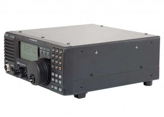 Das Kurzwellenradio IC-718 von ICOM ist der Klassiker. 100 W Ausgangsleistung sind perfekt für weltweite Funkkontakte. Das Gerät ist pactorfähig.Da es sich bei diesem Produkt um die Marine-Version des IC-718 handelt, sind die Seefunkfrequenzen bereits vorprogrammiert. (Bild 3 von 4)