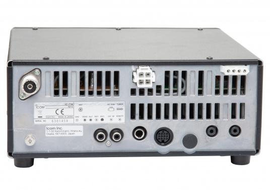 Das Kurzwellenradio IC-718 von ICOM ist der Klassiker. 100 W Ausgangsleistung sind perfekt für weltweite Funkkontakte. Das Gerät ist pactorfähig.Da es sich bei diesem Produkt um die Marine-Version des IC-718 handelt, sind die Seefunkfrequenzen bereits vorprogrammiert. (Bild 4 von 4)