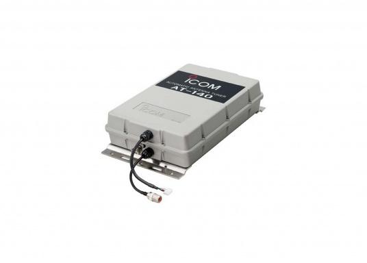 Der automatische Antennentuner AT-140 von ICOM ist für 1,6 bis 30 MHz geeignet. Ideal für Peitschantennen,Achterstagslösungen etc. (Bild 5 von 6)