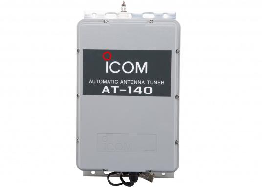 Der automatische Antennentuner AT-140 von ICOM ist für 1,6 bis 30 MHz geeignet. Ideal für Peitschantennen,Achterstagslösungen etc.