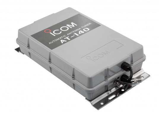 Der automatische Antennentuner AT-140 von ICOM ist für 1,6 bis 30 MHz geeignet. Ideal für Peitschantennen,Achterstagslösungen etc. (Bild 2 von 6)