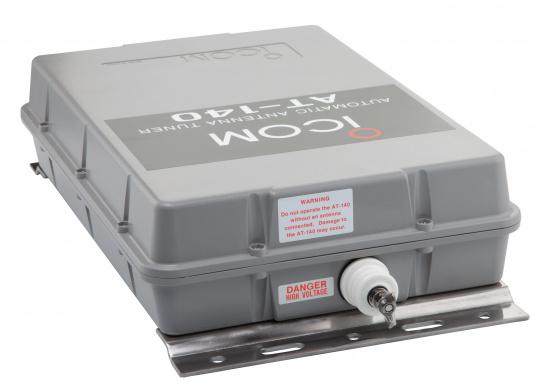 Der automatische Antennentuner AT-140 von ICOM ist für 1,6 bis 30 MHz geeignet. Ideal für Peitschantennen,Achterstagslösungen etc. (Bild 3 von 6)