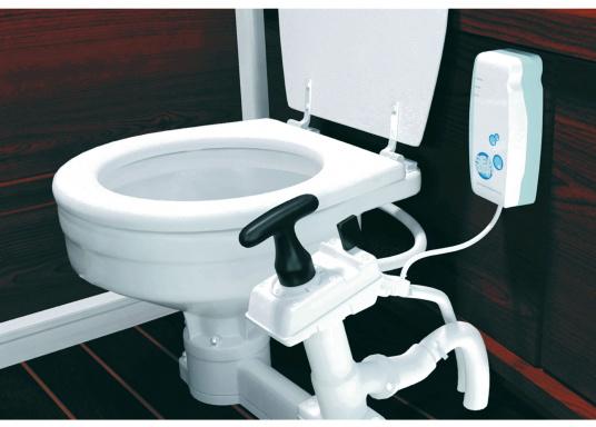 SeaSmart ist ein intelligentes und automatisches Desinfektionsmittel für manuelle und elektrische Bord-WC's, die mit Seewasser betrieben werden. Hält die gesamte Toilette inklusive Schläuche hygienisch sowie frei von Gerüchen und lässt Keimen keine Chance. Funktioniert, auch wenn Sie mal nicht an Bord sind.