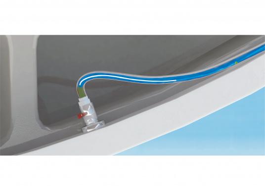 SeaSmart ist ein intelligentes und automatisches Desinfektionsmittel für manuelle und elektrische Bord-WC's, die mit Seewasser betrieben werden. Hält die gesamte Toilette inklusive Schläuche hygienisch sowie frei von Gerüchen und lässt Keimen keine Chance. Funktioniert, auch wenn Sie mal nicht an Bord sind. (Bild 2 von 7)