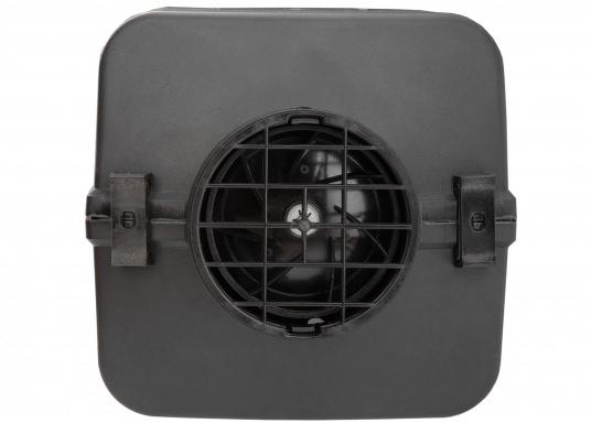 The 4D DELUXE URAL EDITION auxilliary diesel air heater from Autoterm Air is perfect for larger boats from 7.5 m. Adjusting power levels and temperature is child's play. Maximum heating output: 1.8kW. Voltage: 12V. (Image 3 of 9)