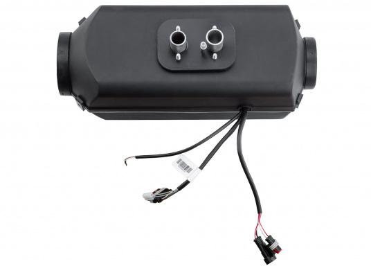 The 4D DELUXE URAL EDITION auxilliary diesel air heater from Autoterm Air is perfect for larger boats from 7.5 m. Adjusting power levels and temperature is child's play. Maximum heating output: 1.8kW. Voltage: 12V. (Imagen 3 de 16)
