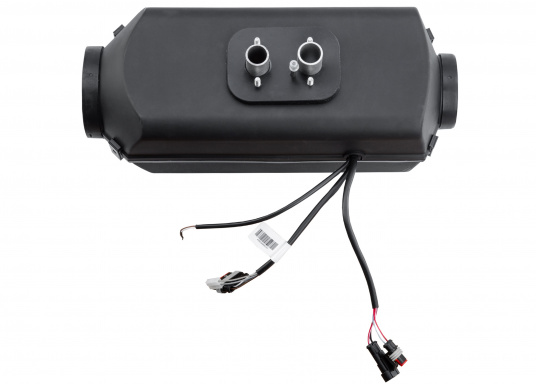 The 4D DELUXE URAL EDITION auxilliary diesel air heater from Autoterm Air is perfect for larger boats from 7.5 m. Adjusting power levels and temperature is child's play. Maximum heating output: 1.8kW. Voltage: 12V. (Image 2 of 9)