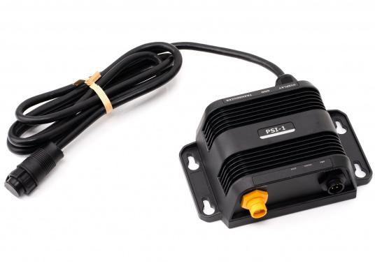 Mit dem Sonarmodul PSI-1 können Sie den neuen hochauflösenden LiveSight Transducer von NAVICO mit einem Lowrance HDS Carbon oder Simrad NSS evo3 Multifunktionsdisplay verbinden. (Bild 3 von 5)
