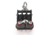 Block with Becket, Swivel and Cleat / 10 mm / ball bearing