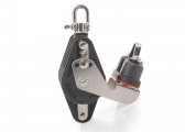 Block with Becket, Swivel and Cleat / 12 mm / ball bearing