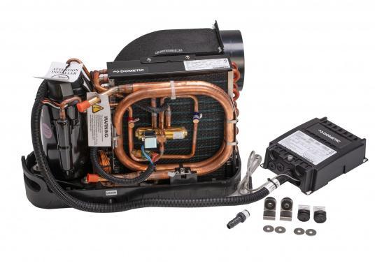 Système d'air conditionné complet, compact et livré prêt à l'installation. Il comprend une isolasion acoustique et un pupitre de contrôle à écran tactile. (Image 2 de 6)