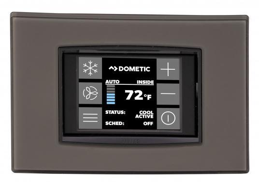 Système d'air conditionné complet, compact et livré prêt à l'installation. Il comprend une isolasion acoustique et un pupitre de contrôle à écran tactile. (Image 4 de 6)