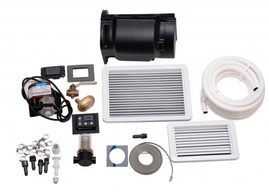 Système d'air conditionné complet, compact et livré prêt à l'installation. Il comprend une isolasion acoustique et un pupitre de contrôle à écran tactile. (Image 5 de 6)