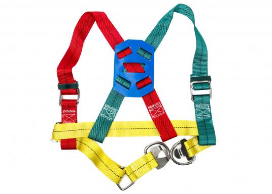 Getesteter Sicherheitsgurt in besonders kräftiger Ausführung (bis 1000 kg Belastung).Lieferung inklusive 3-Punkt Lifeline.  (Bild 3 von 6)