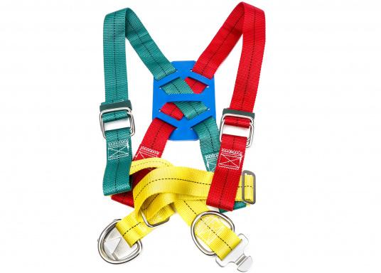 Getesteter Sicherheitsgurt in besonders kräftiger Ausführung (bis 1000 kg Belastung).Lieferung inklusive 3-Punkt Lifeline.  (Bild 6 von 6)