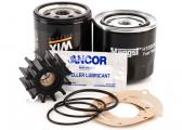 Kit d'entretien pour moteurs Volvo Penta D2-55 et D2-75