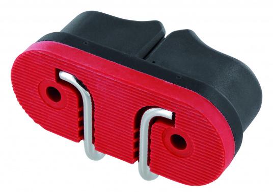 Die Gleitlager-Schotklemme von Sprenger wird komplett mit Schotführung geliefert. Für Tauwerk mit dem Durchmesser: 8 - 13 mm. (Bild 2 von 2)