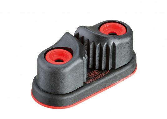 Qualitativ hochwertige Gleitlager-Schotklemme von Sprenger für Tauwerk mit einem Durchmesser von 8 - 13 mm.