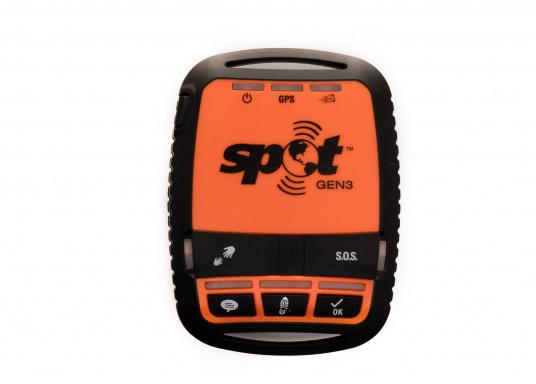 Mit dem SPOT Gen3 können Sie Angehörige darüber informieren, dass es Ihnen gut geht und im Notfall den Rettungskräften per Knopfdruck Ihre GPS-Positionen übermitteln. Der SPOT Gen3 arbeitet zu 100% mit Satellitentechnologien, ist somit unabhäbngig von Funk- und Handynetzen und bietet eine Ihnen eine lebensrettende Kommunikationsmöglichkeit im kompakten Design.