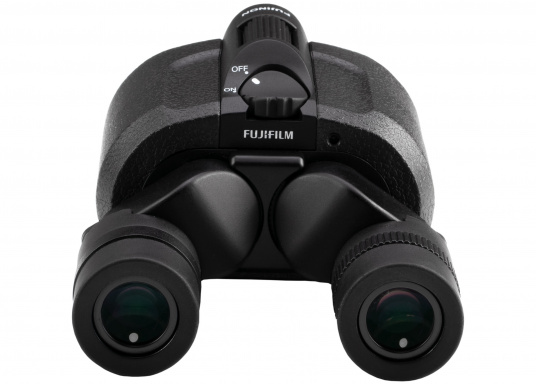 Ergonomic, innovative and lightweight! The FUJINON Techno-Stabi 12x28 compact binoculars create a stabilised field of vision for an image that is sharp, high-contrast and bright. The resulting image enhancement ensures a solid and stable view from virtually all vehicles, whether on land, at sea or in the air. (Imagen 6 of 9)