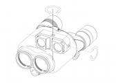 Fernglas Techno-Stabi 12x28 / bildstabilisierend