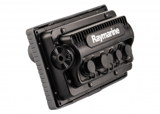 The Raymarine eS78 multifunction display features high-speed processors, a super-bright hybrid touch display and a variety of connectivity options. You have the freedom to choose between the best cartographies and the innovative multi-function knob ensures precise and easy navigation in all weather conditions. (Image 12 of 14)