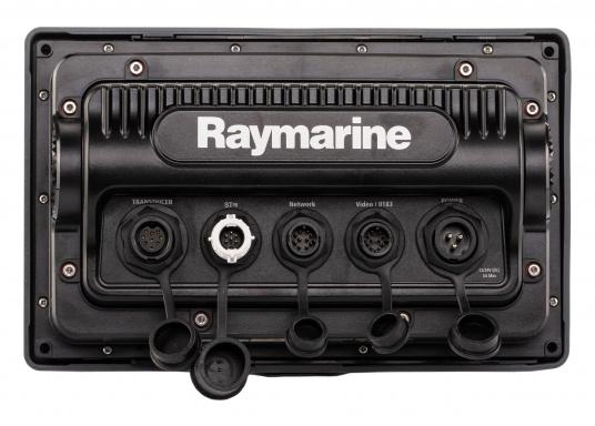 The Raymarine eS78 multifunction display features high-speed processors, a super-bright hybrid touch display and a variety of connectivity options. You have the freedom to choose between the best cartographies and the innovative multi-function knob ensures precise and easy navigation in all weather conditions. (Image 13 of 14)