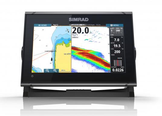 Das Simrad GO9 XSE Kartenplotter-Navigationsdisplay eignet sich optimal zur Funktionserweiterung auf Sportbooten, Kreuzfahrtschiffen und in kleineren Mittelkonsolen mit Plug-and-Play-Unterstützung für Simrad Broadband Radar™ und Halo™ Pulskompressions-Radarsystemen. Lieferung inklusive ForwardScan Geber. (Bild 6 von 9)
