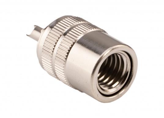 PL-Stecker für 10 mm RG213 Kabel. (Bild 2 von 2)