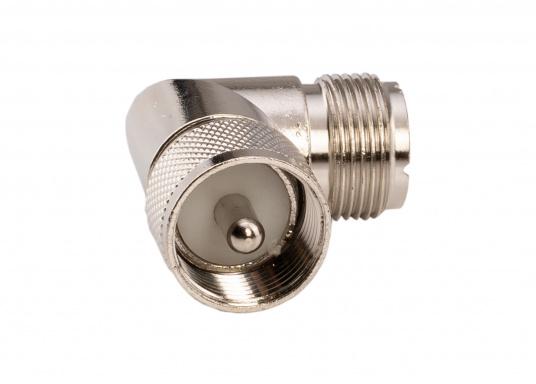 Winkelkupplung: PL-Buchse auf PL-Stecker. (Bild 2 von 3)