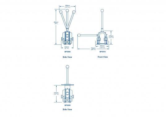 Eine der besten Membran-Handpumpen! Bei geringem Kraftaufwand liefert die Pumpe je nach Schlagzahl eine Pumpkapazität von 71 - 111 Liter in der Minute.  (Bild 6 von 6)